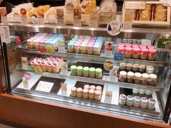 日光ぷりん亭の宇都宮店のプリンの種類