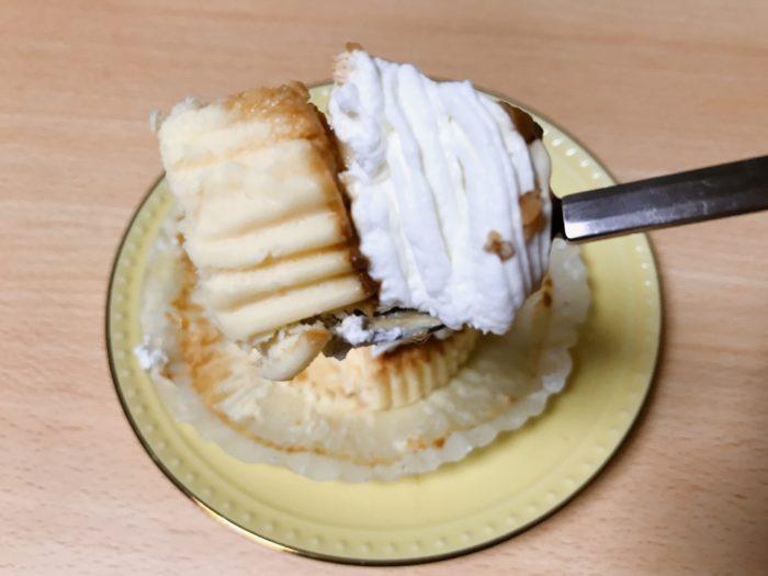マウントプリンバスチーを食べる