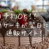 ケーキと調理場