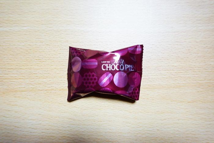 チョコパイバスクチーズケーキの個包装
