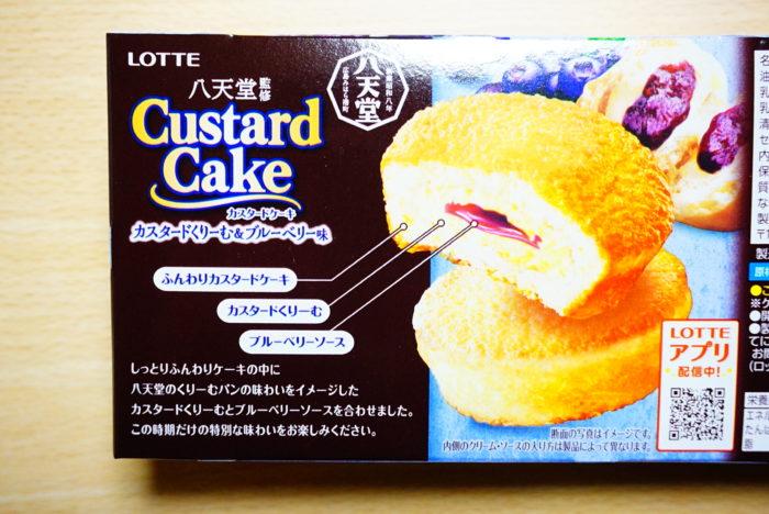 ロッテ×八天堂のカスタードケーキの味