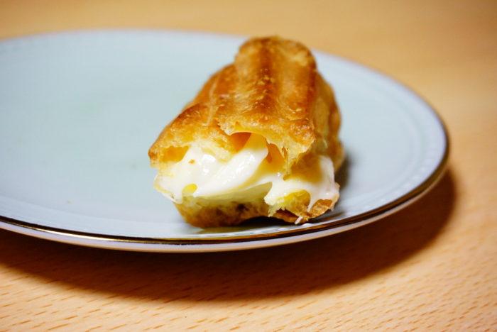 ノビーなエクレアチーズのクリーム