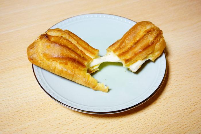 ノビーなエクレアチーズを伸ばす