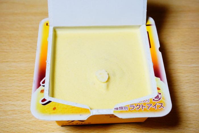 爽の純喫茶風プリン味のアイス部分