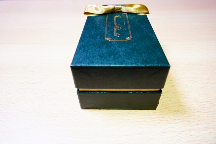 テリーヌドゥショコラの箱