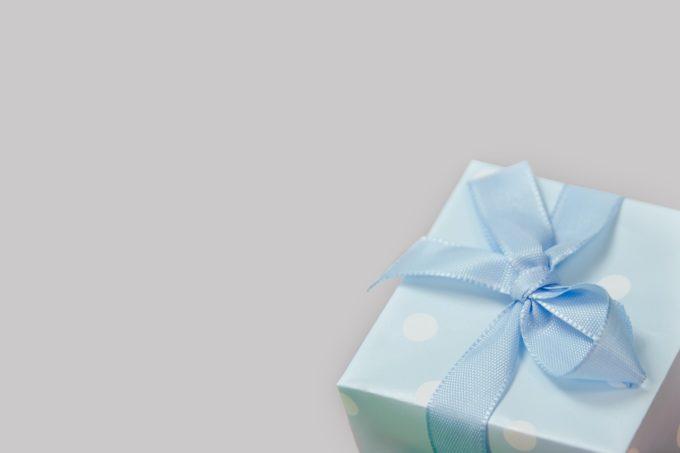 プレゼントと箱