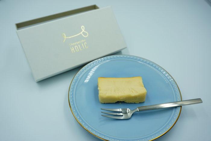チーズケーキホリックのケーキをレビュー