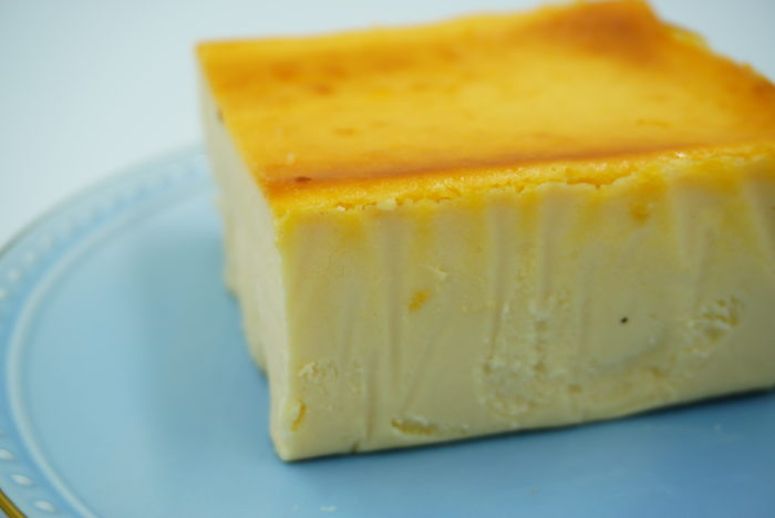 チーズケーキホリックの質感