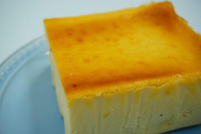 チーズケーキホリックの焼き色加減